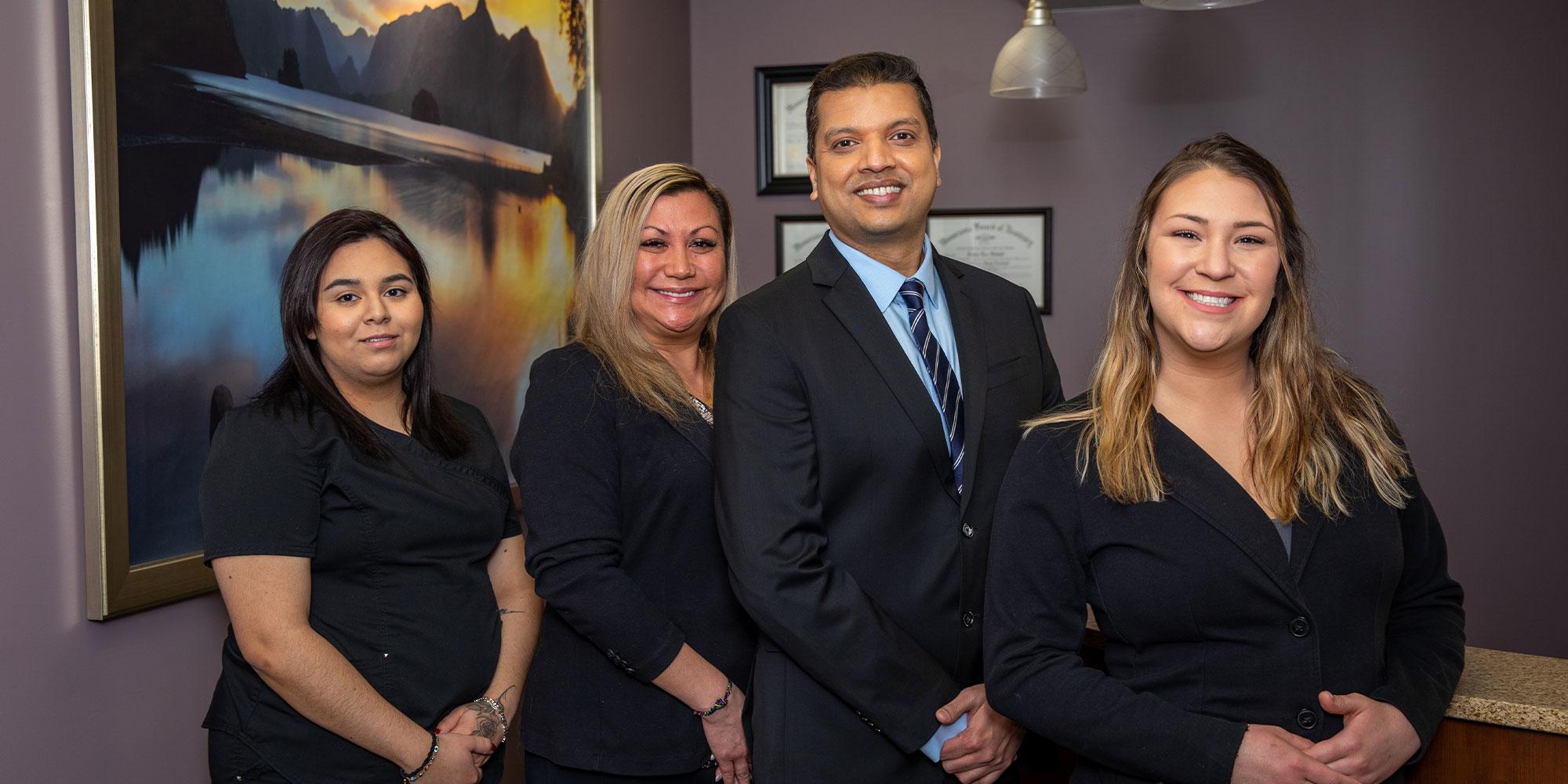 Dr. Avi Matha and Team